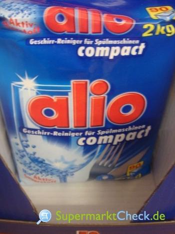 Foto von alio Compact Geschirr-Reiniger Pulver