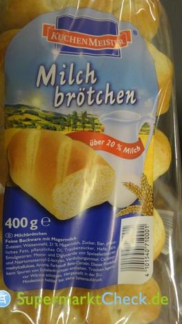 Foto von Kuchenmeister Milchbrötchen