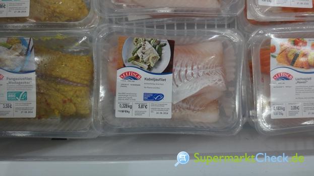 Foto von Seefisch Kabeljaufilet