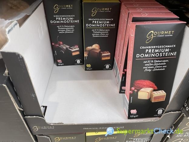 Foto von Gourmet Finest Cuicine Premium Dominosteine