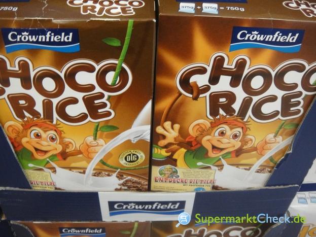 Foto von Crownfield Choco Rice