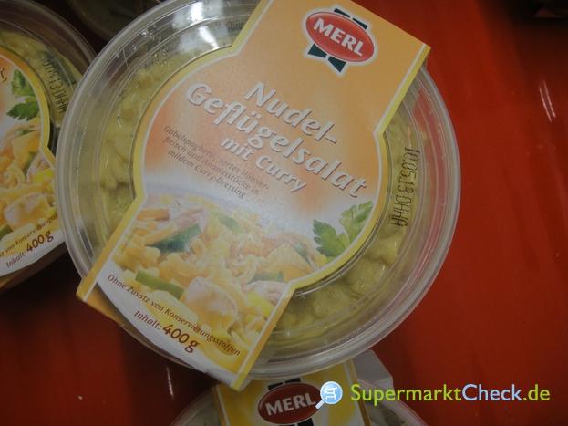 Foto von Merl Nudel- Geflügelsalat mit Curry