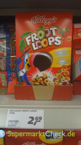 Foto von Kelloggs Froot Loops
