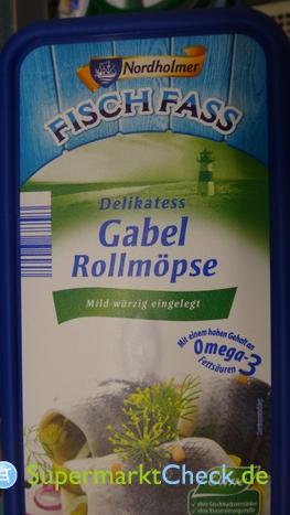 Foto von Nordholmer Fisch Fass Gabel Rollmöpse