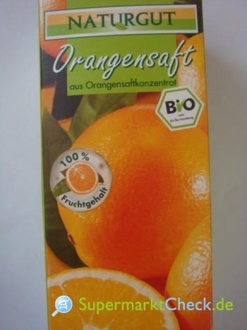 Foto von Naturgut Bio Orangensaft