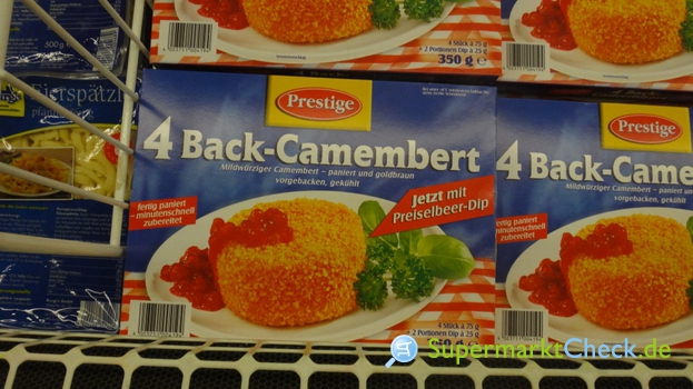 Foto von Prestige Back Camembert