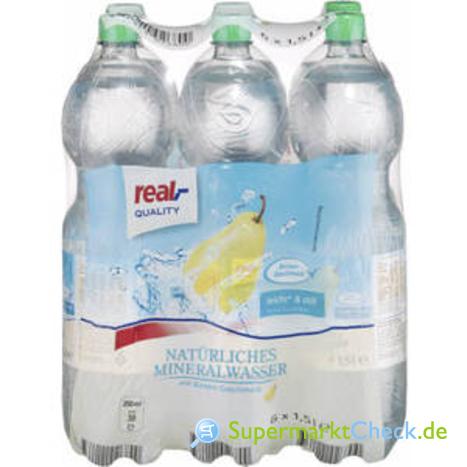 Foto von real Quality Stilles Wasser Birnen Geschmack