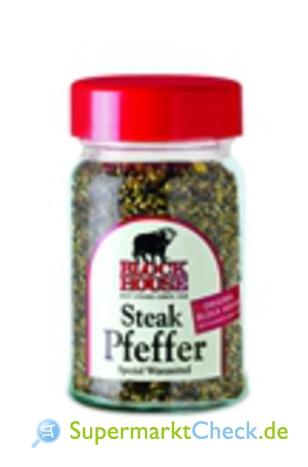 Foto von Block-House Steak Pfeffer