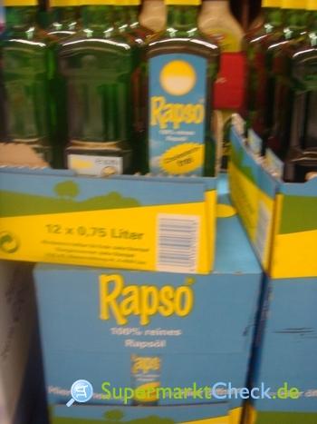 Foto von Rapso 100% reines Rapsöl