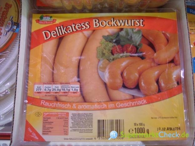 Foto von Gut Ponholz Delikatess Bockwurst