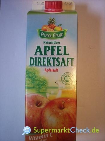 Foto von Pure Fruit Apfel Direktsaft