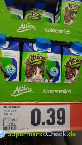 Foto von Attica Katzenmilch