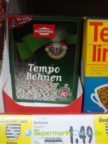 Foto von Suppina Tempo Bohnen