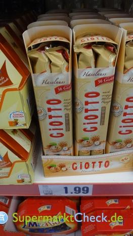 Foto von Ferrero Giotto Haselnuss Gebäckspezialität
