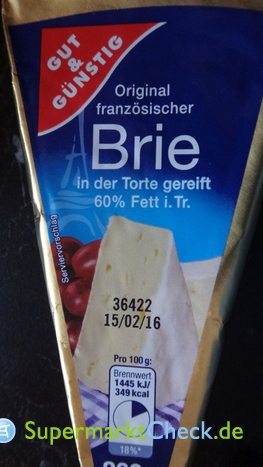 Foto von Gut & Günstig französischer Brie