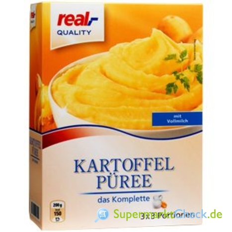 Foto von real Quality Kartoffelpüree