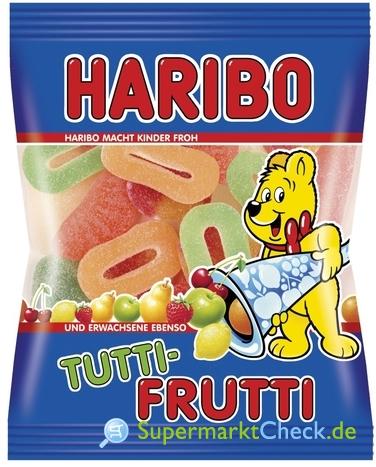 Foto von Haribo Tutti Frutti