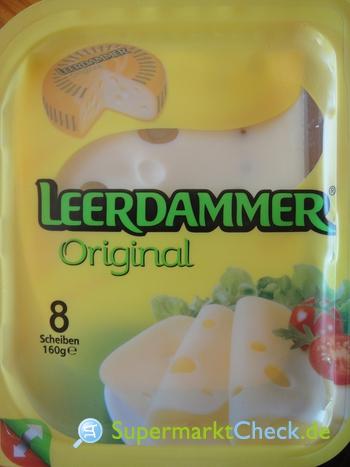 Foto von Leerdammer Original Scheibenkäse