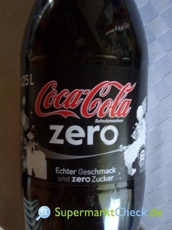 Foto von Coca Cola Zero