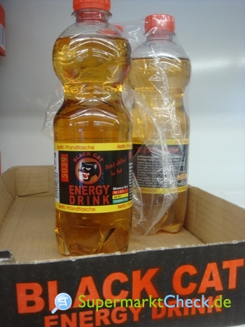 Foto von Black Cat / Netto Energiedrink