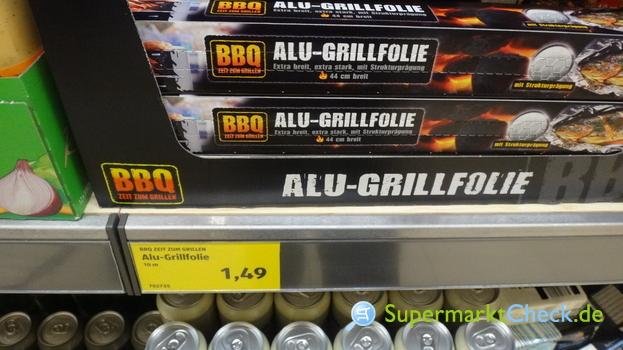 Foto von BBQ Zeit zum Grillen Alu Grillfolie