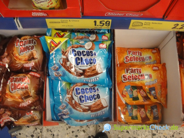 Foto von Mister Choc Party Selection Minis