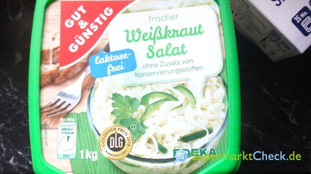 Foto von Gut & Günstig Frischer Weisskrautsalat