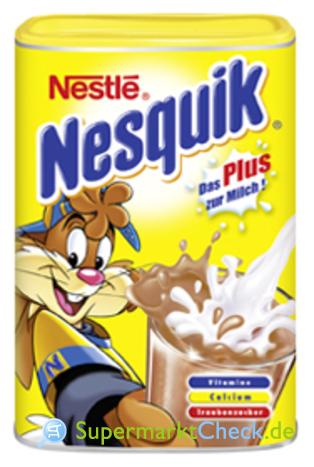 Foto von Nestle Nesquick Das Plus zur Milch