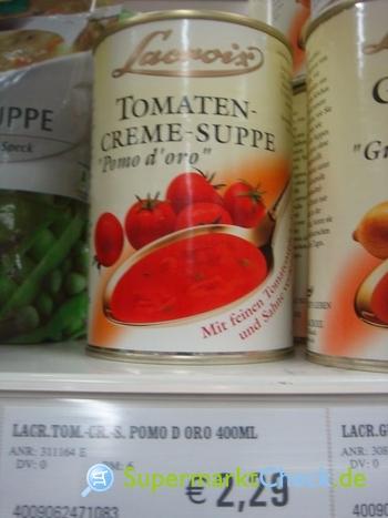 Foto von Lacroix Tomaten Creme Suppe