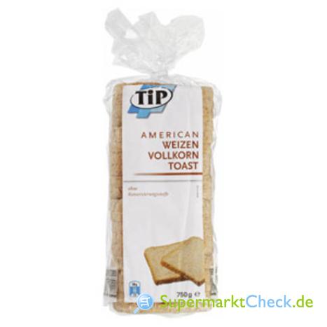 Foto von Tip Weizen Vollkorn Sandwich-Toast