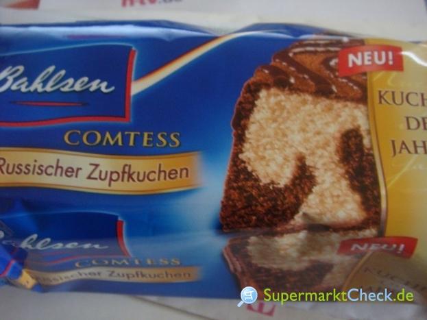 Foto von Bahlsen Comtess Russischer Zupfkuchen