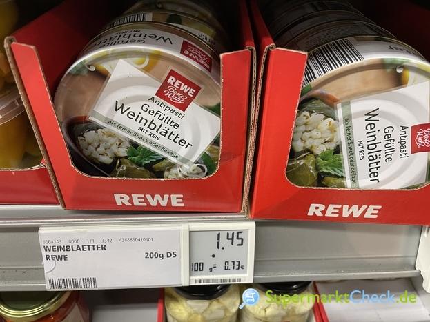 Foto von REWE Beste Wahl Gefüllte Weinblätter