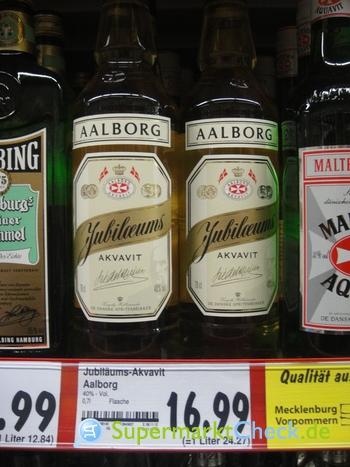 Foto von Aalborg Jubiläums Aquavit