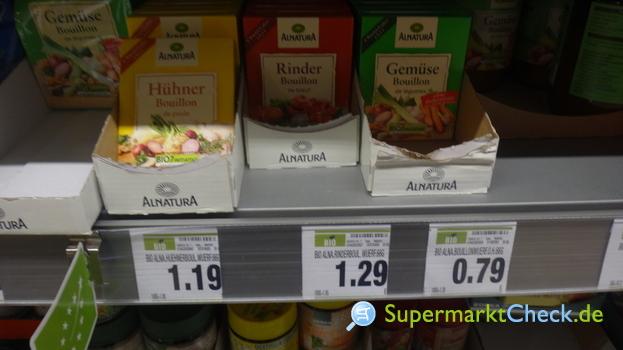 Foto von Alnatura Bio Rinder Brühe, glutenfrei