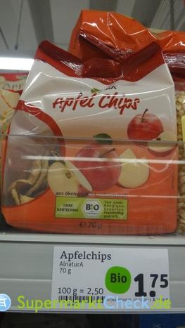 Foto von Alnatura Apfel Chips