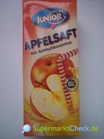 Foto von Junior Apfelsaft
