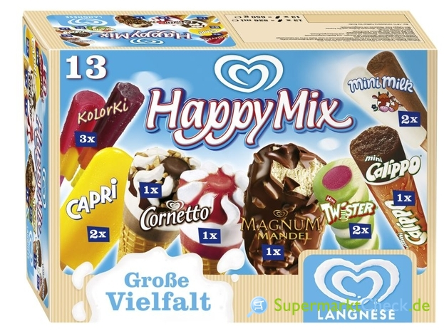 Foto von Langnese Happy Mix