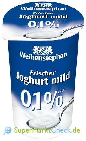 Foto von Weihenstephan Frischer Joghurt mild