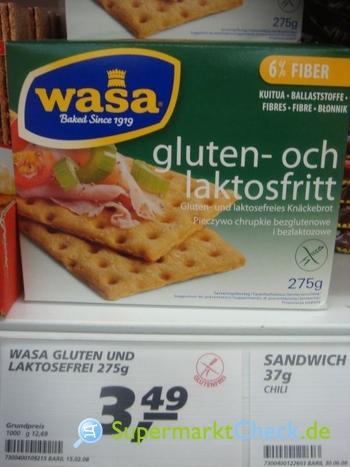 Foto von Wasa Knäckebrot