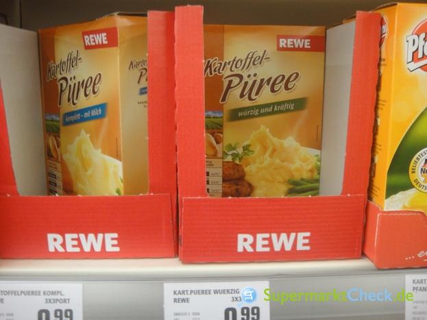 Foto von REWE Kartoffelpüree