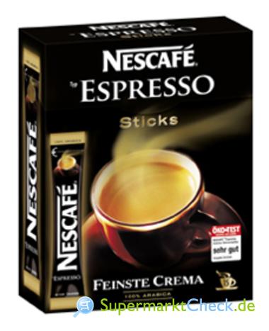 Foto von Nescafe Espresso Sticks