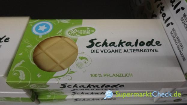 Foto von Vantastic Food Schakalode Weiß