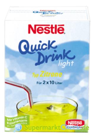 Foto von Nestle Quick Drink Light