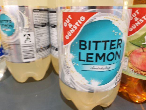 Foto von Gut & Günstig Bitter Lemon