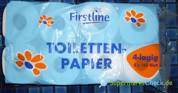 Foto von Firstline Toilettenpapier  8-er Pack