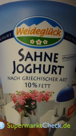 Foto von Weideglück Sahne-Joghurt