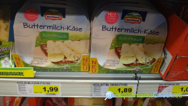 Foto von Hochland Buttermilch Käse