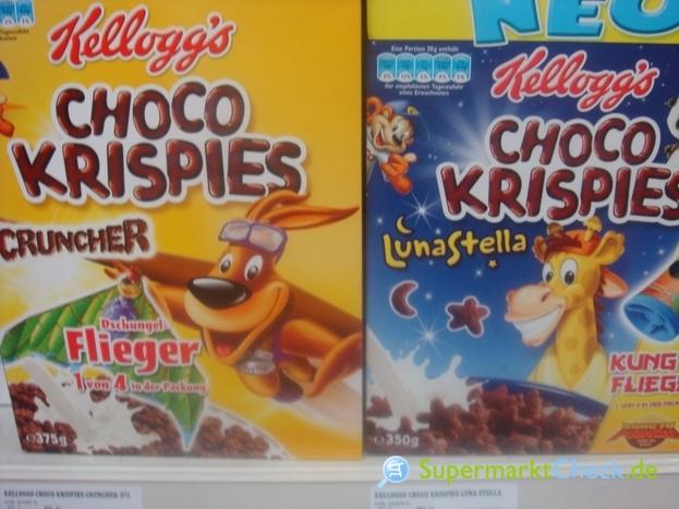 Foto von Kelloggs Choco Krispies