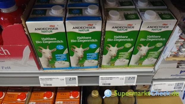 Foto von Andechser Natur Haltbare Bio Ziegenmilch