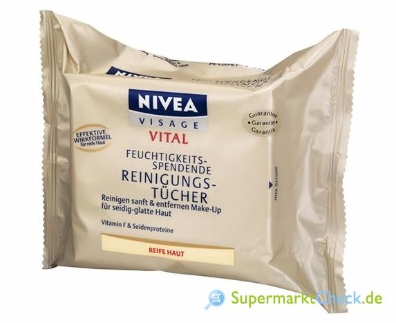 Foto von Nivea Visage Vital Feuchtigkeitsspendende Reinigungstücher